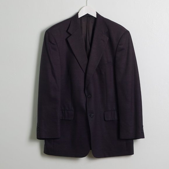 Brooks Brothers Other - Brooks 346 Dark Gray Double Button Blazer